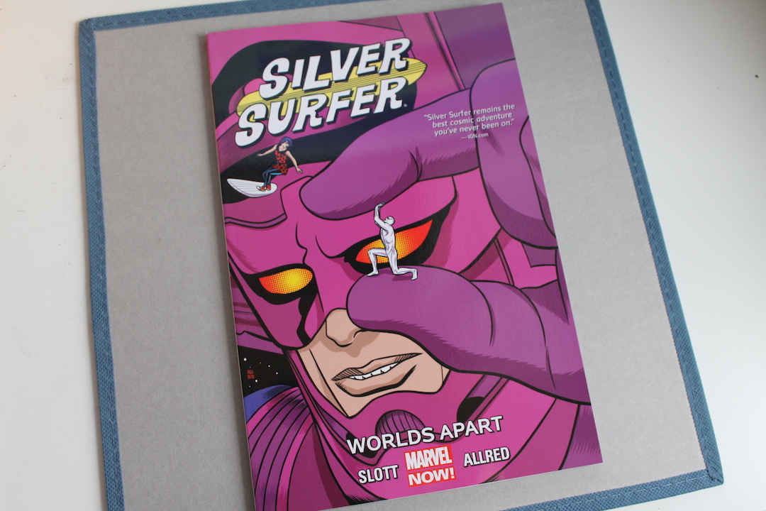 Silver Surfer, TB - Worlds Apart